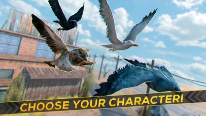 Bird Survival | Wing Sky Fly Tiny Simulator Game For Free Screenshot on iOS