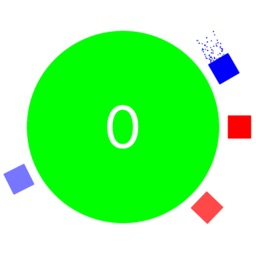 Circle Ball Surfer - Switch Color to Match Crazy Square