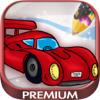 Pintar coches - carros y autos para colorear -  Premium