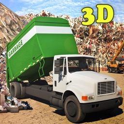 City Garbage truck Driver 3d simulator