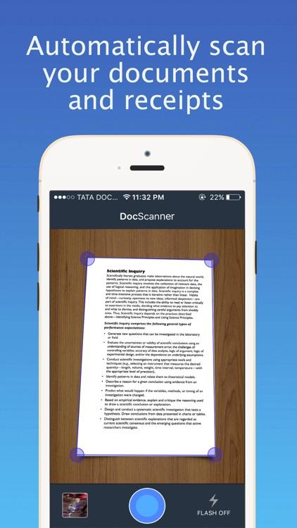 DocScanner : PDF Document Scanner & OCR