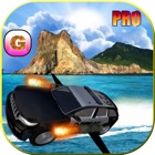 Floating Police Car Flying Cars – Futuristic Flight Simulator PRO game icon