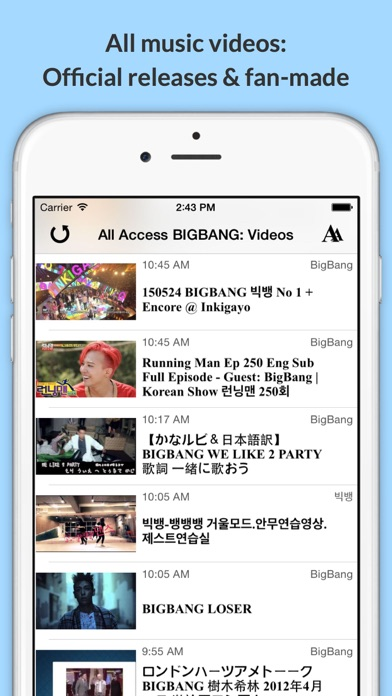 download All Access: BIGBANG Edition - Music, Videos, Social, Photos, News & More! apps 2