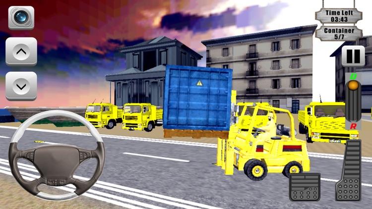 Forklift Operator Simulation