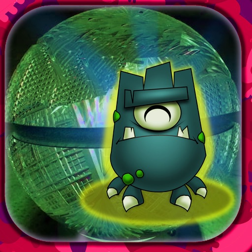 A Monstrous Ball In Space - Geometria Super Cool Game