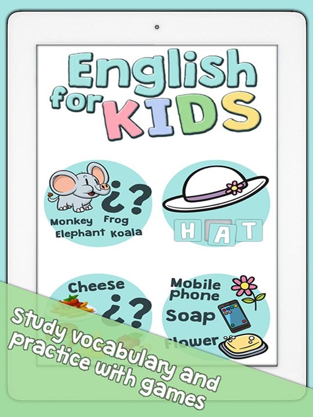 Cocuklar Icin Ingilizce Kelime Bilgisi Ve Kelime Oyunlari