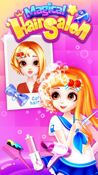 Hair Salon Magic for Princess