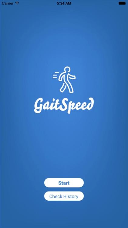 Gait Speed screenshot-0
