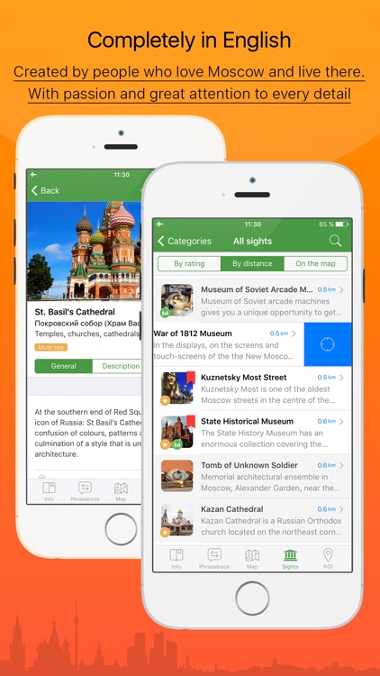 Moscow – tourist guide & offline map – Tournavigator