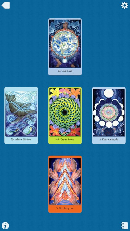 Sacred Geometry Cards for the Visionary Path screenshot-4