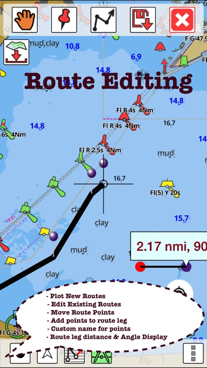 i-Boating:Persian/Arabian Gulf, Red Sea & Gulf of Aden- Marine/Nautical Charts & Navigation Maps screenshot-4