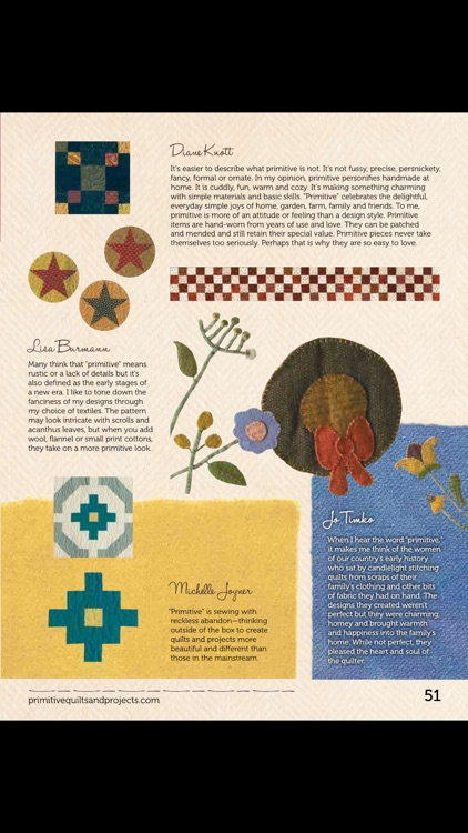 Primitive Quilts and Projects screenshot-4