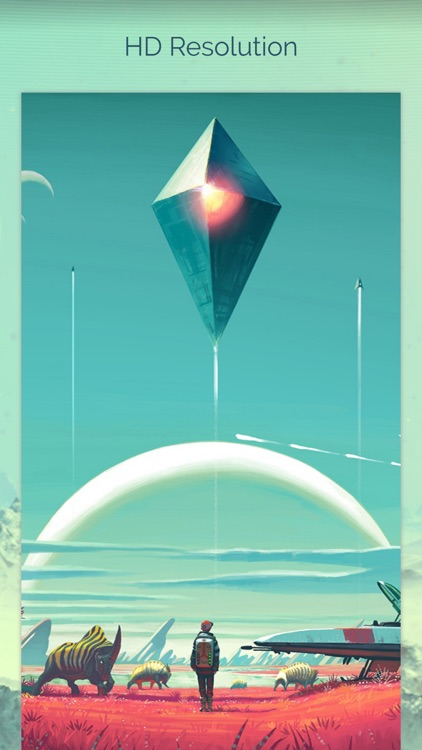 Wallpapers for No Man's Sky Free HD + Emoji Stickers screenshot-2