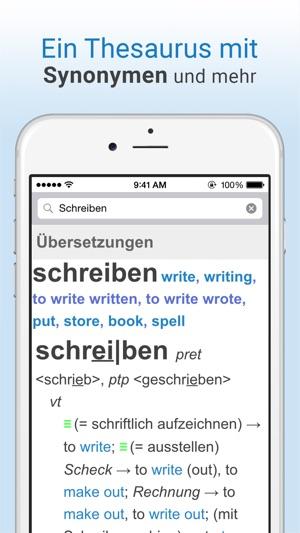 Online Wörterbuch Im App Store