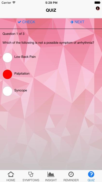 Signs & Symptoms Arrhythmias screenshot-4