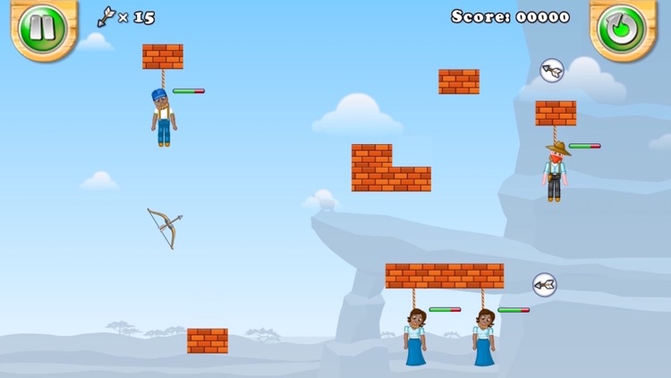 Gibbets: Shoot the Rope screenshot-3