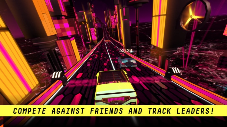 Riff Racer: Race Your Music screenshot-3