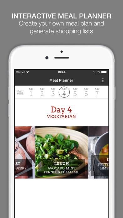Jason Vale's Super Fast Food app image