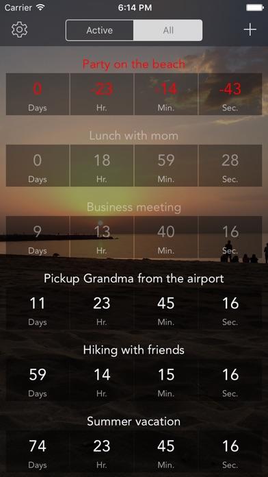 Countdown - Termin & Veranstaltung ErinnerungenScreenshot von 3