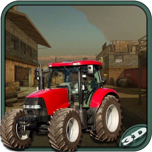 Farm Tractor Simulator : 3D Parking Driving Game icon