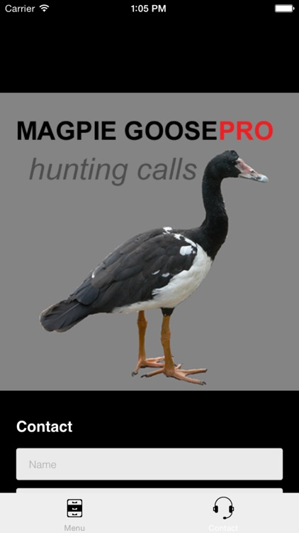 REAL Magpie Goose Calls - Hunting Calls for Magpie Geese - BLUETOOTH COMPATIBLE screenshot-3
