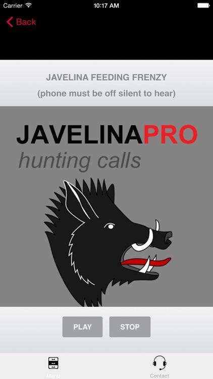 REAL Javelina Calls & Javelina Sounds to use as Hunting Calls screenshot-3
