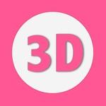 奇趣3D文字 - 制作3D视频,视频片头,用图片制作视频片头