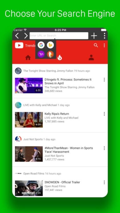 Pegasus Browser - Ad Blocker screenshot-3