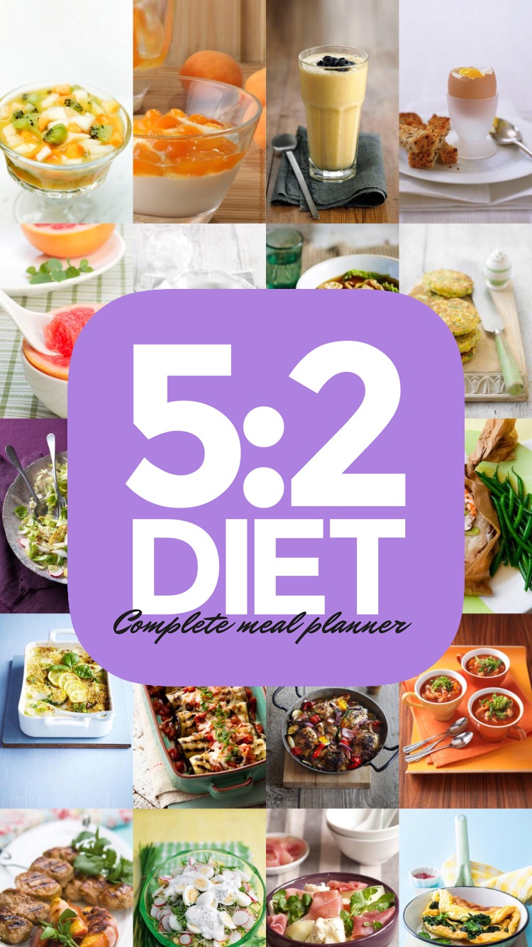 5:2 Diet Complete Meal Planner