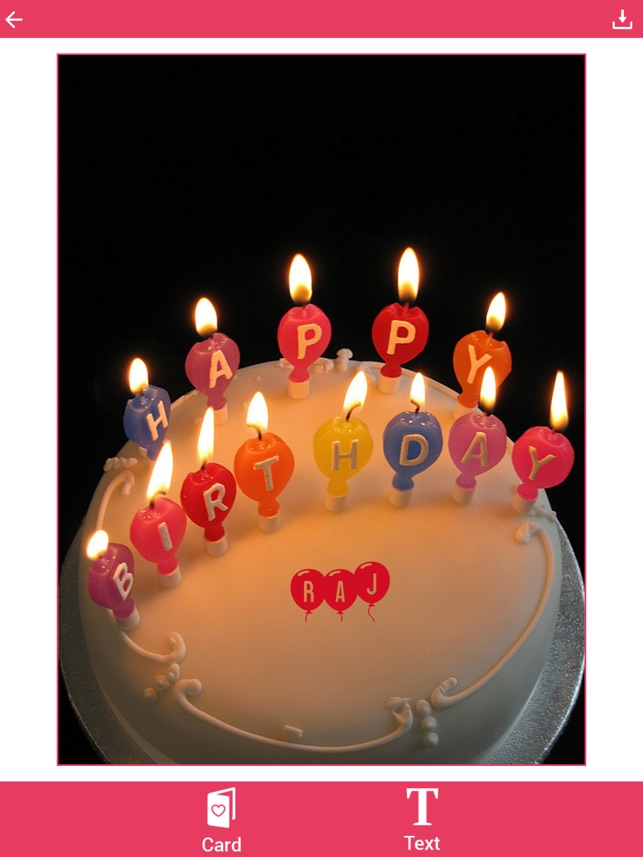 Name On Birthday Cake The App Store