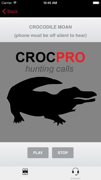 REAL Crocodile Hunting Calls - 7 REAL Crocodile CALLS & Crocodile Sounds! - Croc e-Caller - (ad free) BLUETOOTH COMPATIBLE screenshot-0