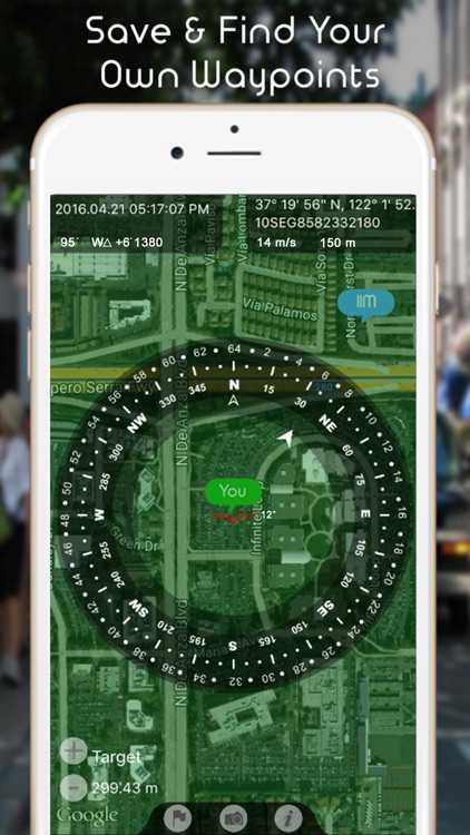 Commander Heading Compass - Minimalist, Digital GPS Finder screenshot-3