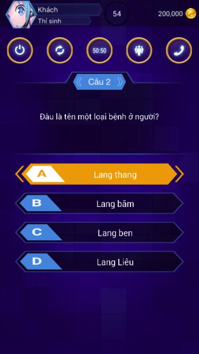 ... Ai Là Triệu Phú - Âm Thanh Sống Động Screenshot on iOS