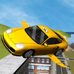 Taxi Car Flying Simulator