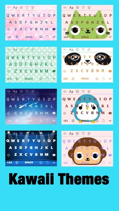 New Emoji 2 ∞ Emoji Keyboard with Kawaii Theme, emoticon