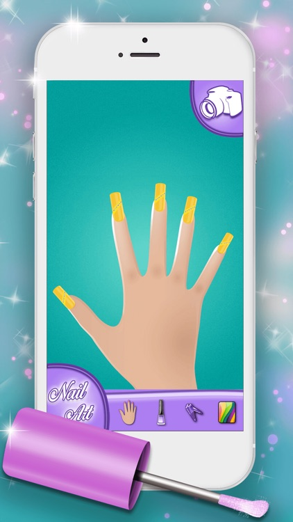 Nail Art Designs Games: Manicure Salon for Fashion Girl.s and Top Star Nail Makeover screenshot-3