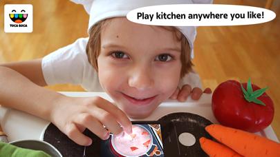 Toca Kitchen Monsters review screenshots