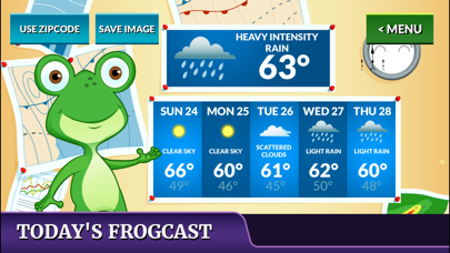 Freddy the Frogcaster's Weather Stationのおすすめ画像1