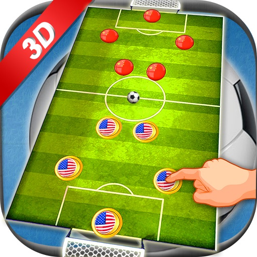 Finger Soccer 2016 - Slide soccer simulation game for real challengers and soccer stars