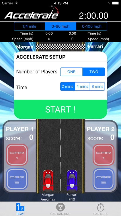 Accelerate: The Game