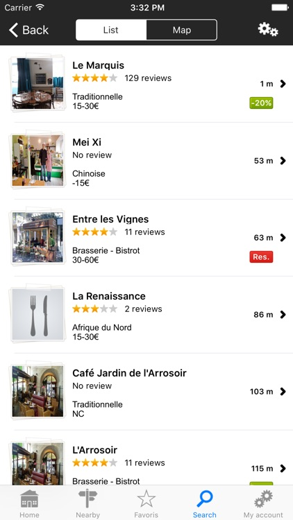 French restaurants, the restaurant guide by L'Internaute screenshot-3