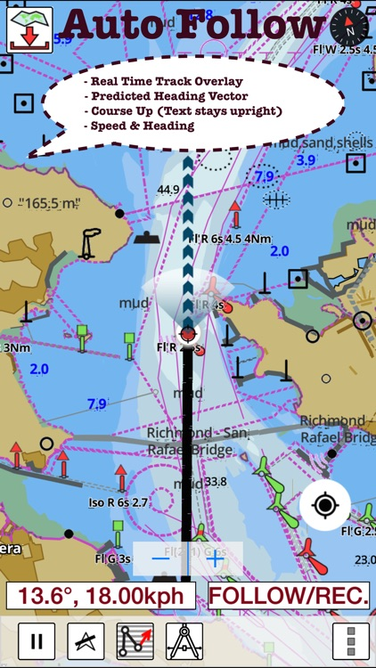 i-Boating:Germany GPS Nautical / Marine Charts & Maps screenshot-0