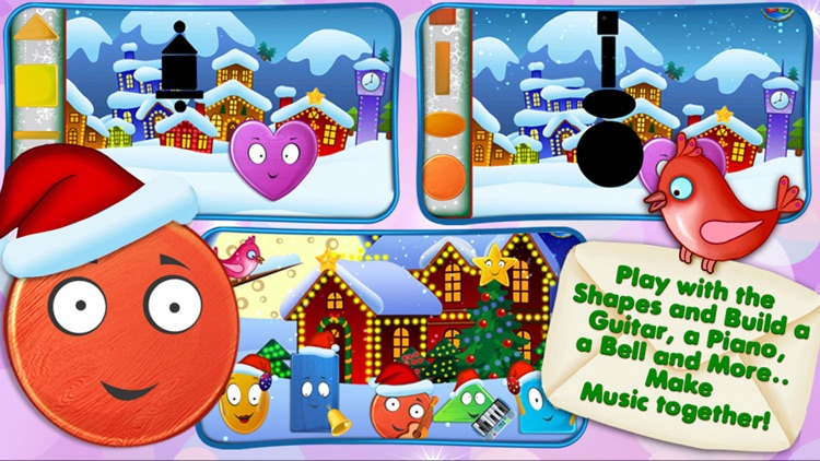 Friendly Christmas - Funny Shape Holiday Adventure screenshot-3