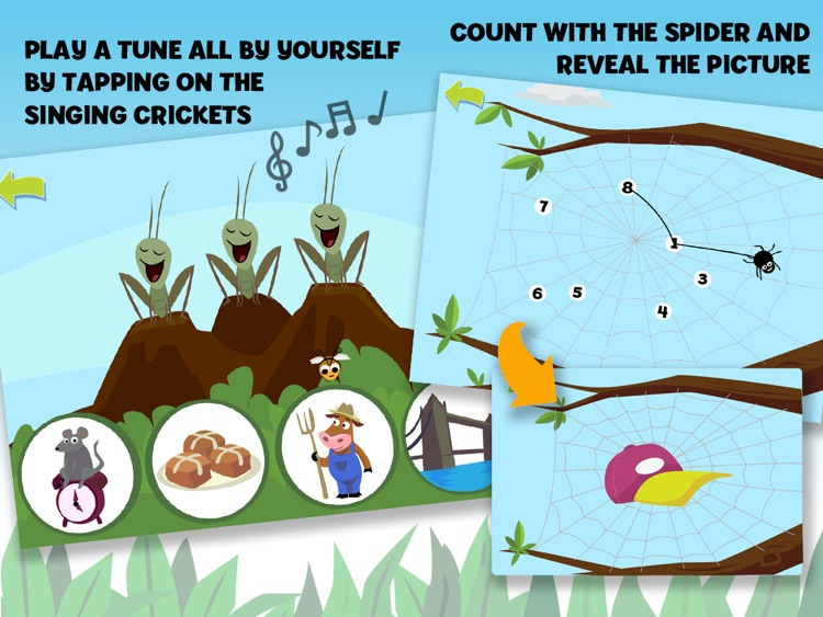 Brainy Bugs Preschool Games
