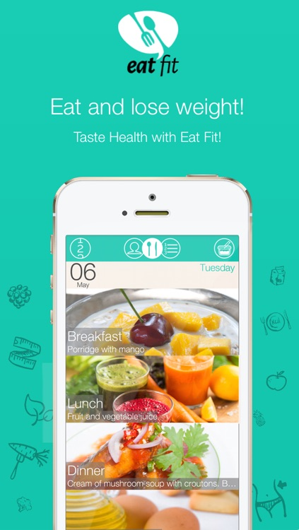 Eat Fit - Diet and Health screenshot-0