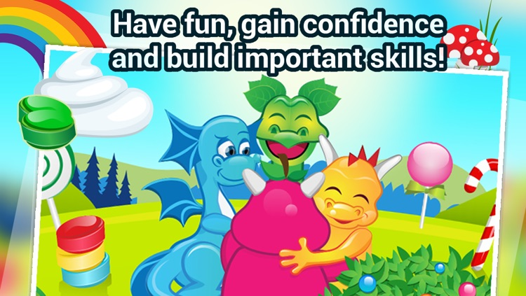 Candy Dragons - The Candyland Color Dragons Adventures - Free screenshot-4
