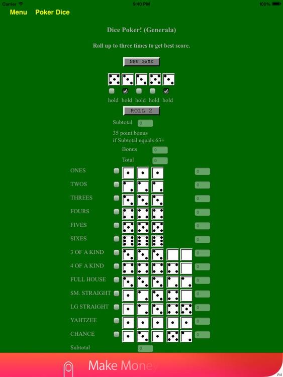 Poker Dice and Casino Games - BA.net screenshot-4