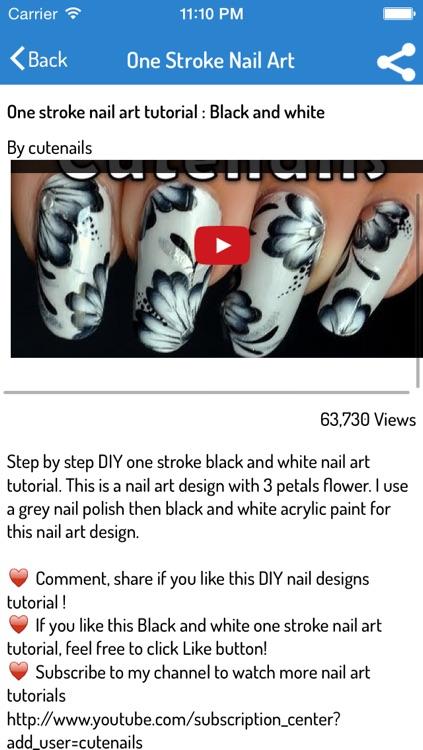 Nail Art - How To Do Cute Nails screenshot-3