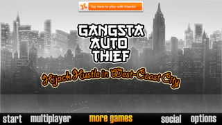 Foto do Gangsta Auto Thief: Hijack Hustle in West-Coast City (Crazy Extreme Chasing Hip-Hop for Adults, Boys, & Kids 12+)