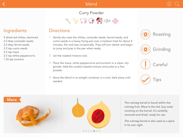 Blend : The Spice Blend Recipe App screenshot-1